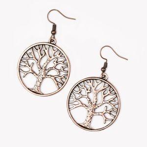 NWT copper earrings.